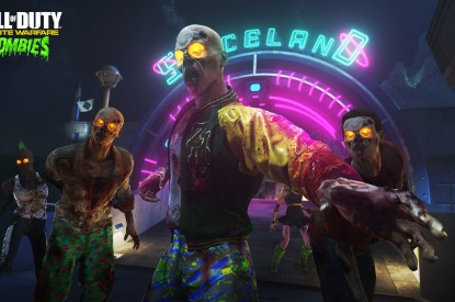 Call, Call of Duty, Infinite Warfare, Zombies in Spaceland, HD, 2K