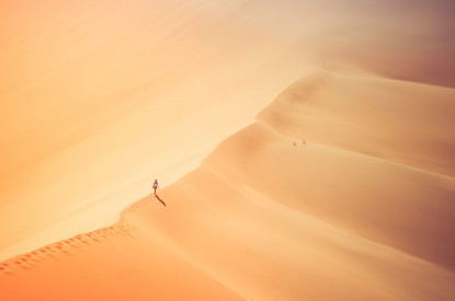 Girl, Desert, Alone, Girl, Desert, Alone, HD, 2K, 4K, 5K