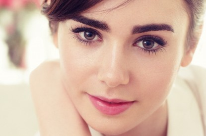 Lily, Lily Collins, HD, 2K