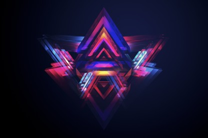 Pyramids, Triangles, Dark, Geometric, Pyramids, Triangles, Dark, Geometric, HD, 2K