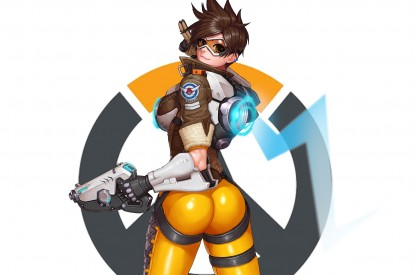 Tracer, Overwatch, Action, Figure, Tracer, Overwatch, Action, Figure, HD, 2K