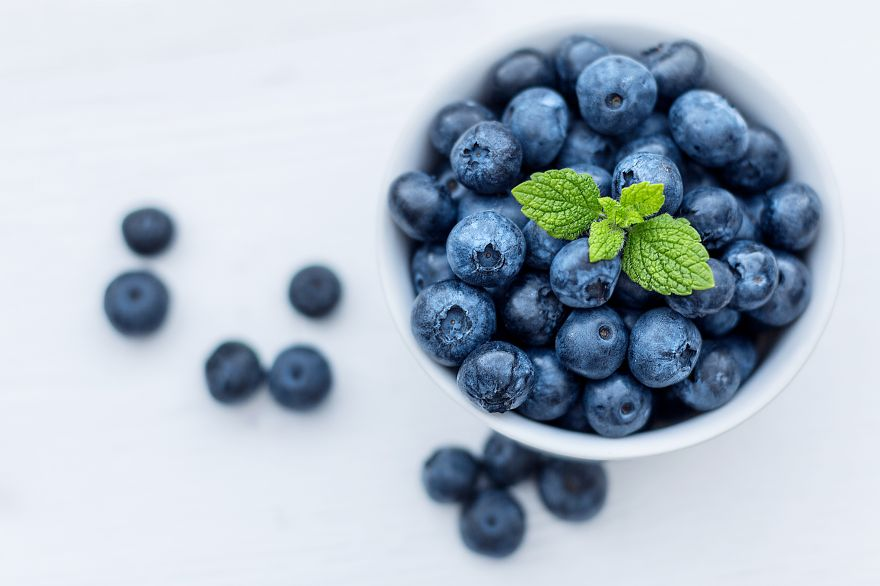 Blueberries, Delicious, Blueberries, Delicious, HD, 2K