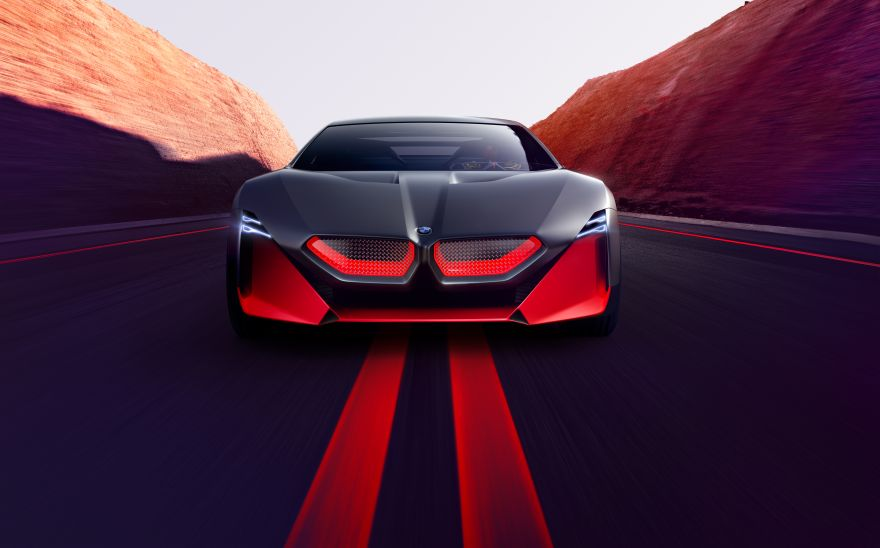 BMW, BMW Vision M NEXT, Concept cars, Hybrid sports car, Autonomous car, Futuristic cars, 2019, HD, 2K, 4K