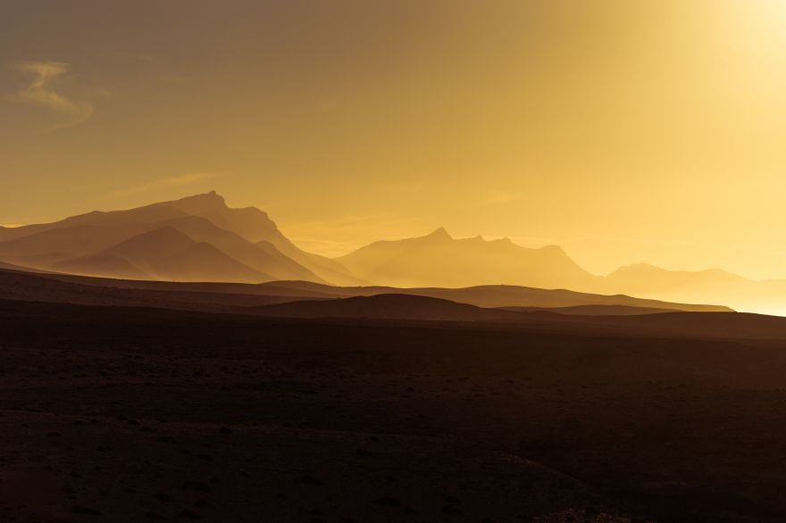 Golden, Golden hour, Sunset, Mountains, HD, 2K, 4K, 5K