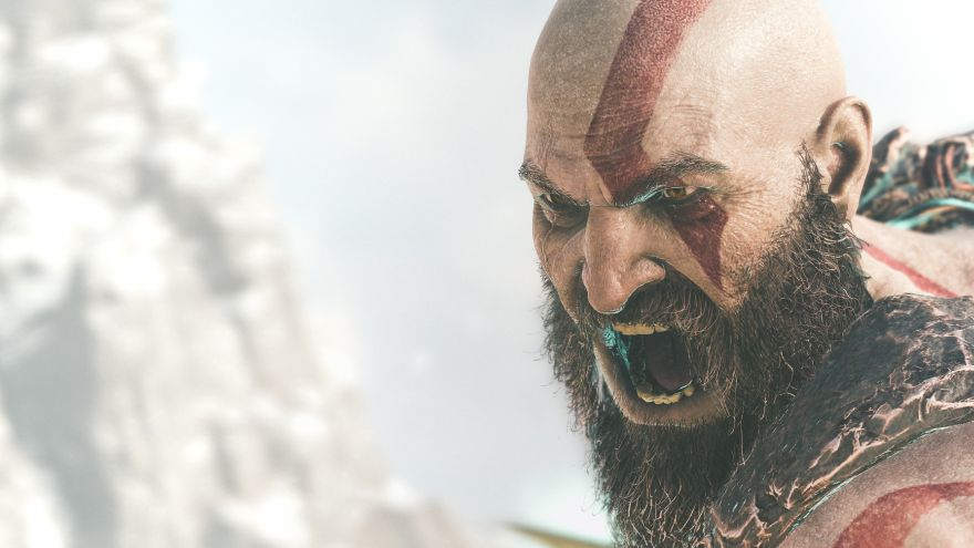 Kratos, God, Kratos, God of War, HD, 2K