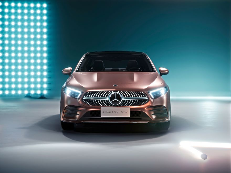 Mercedes-Benz, Mercedes-Benz A200 L Sport Sedan, 2018, HD, 2K
