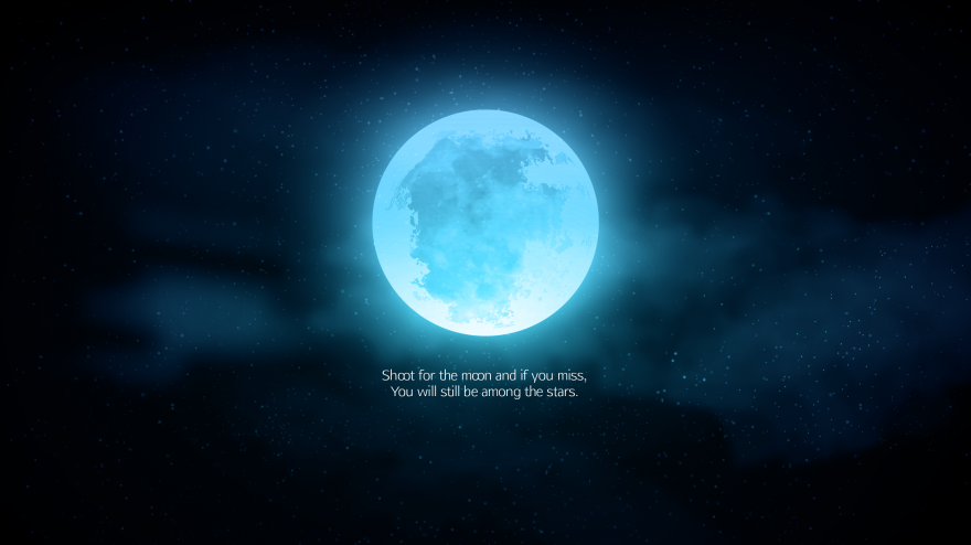 Moon, Stars, Popular, Moon, Stars, Popular quotes, Inspirational quotes, HD, 2K